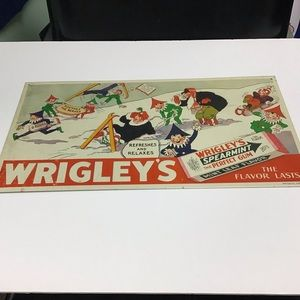 Other - Metal Wrigley's Gum Sign